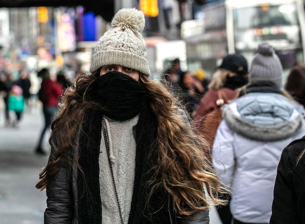 ABD'de dondurucu soğuklar hakim