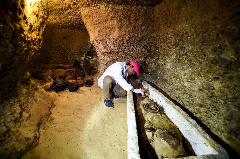 Mısır'da 40 mumya bulundu