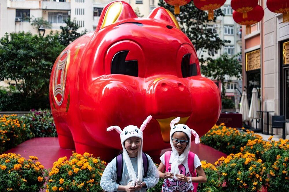 Çin Domuz Yılı'na girdi