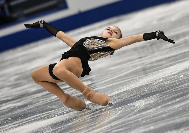 Rus artistik patinajcı Aleksandra Trusova