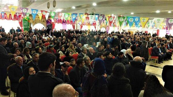 HDP, Mardin aday tanıtım toplantısı - Sputnik Türkiye