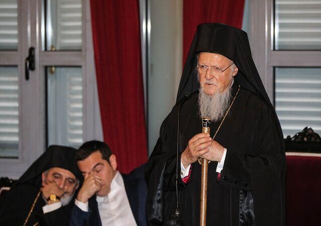 Yunanistan Başbakanı Aleksis Çipras- Fener Rum Patriği Bartholomeos