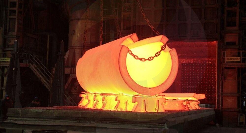 Akkuyu Nükleer Güç Santrali'nin (NGS) ilk reaktör basınç tankı