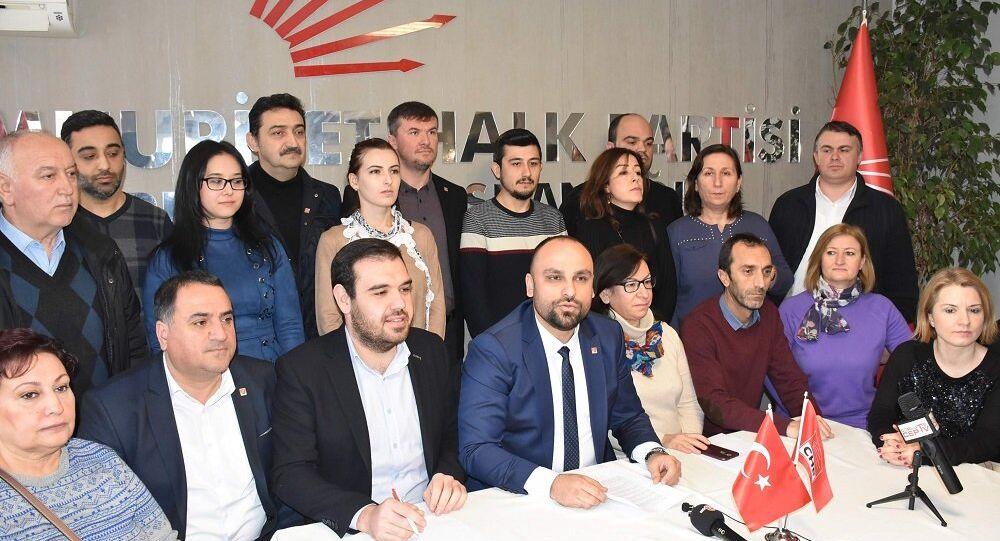 CHP'nin Çorlu ilçe teşkilatı istifa etti