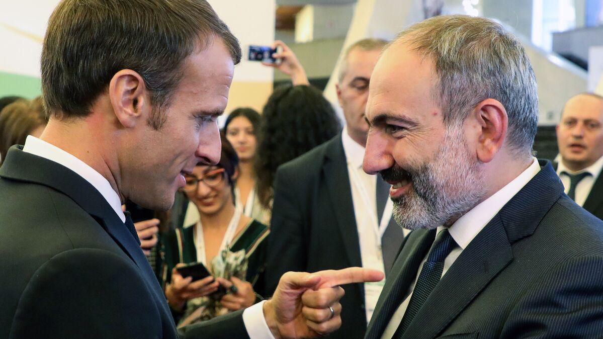 Ermenistan Başbakanı Paşinyan: Macron ile 'Türkiye'nin Karabağ konusundaki  saldırgan tutumunu' görüştük - Sputnik Türkiye