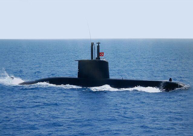 Preveze Sınıfı Türk Denizaltı