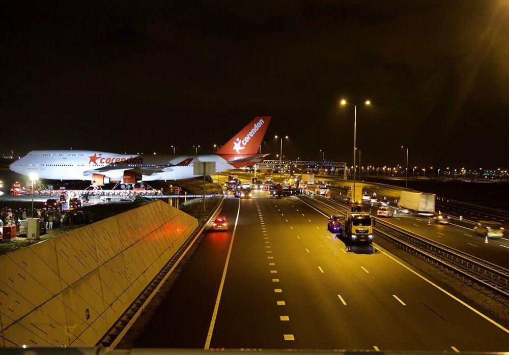 Türk iş adamı Atilay Uslu'nun sahibi olduğu Hollanda ve Benelüks ülkelerindeki en büyük otelin bahçesine konulacak Boeing 747 tipi uçak