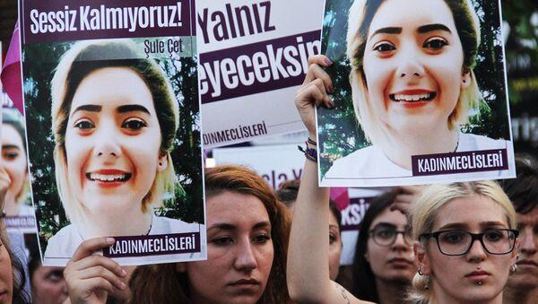 Şule Çet'in avukatı: Boğularak öldürülmüş olabilir - Sputnik Türkiye