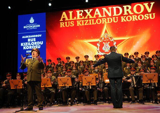 Aleksandrov Rus Kızılordu Korosu