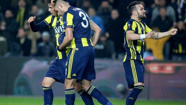 Fenerbahçe, UEFA Avrupa Ligi son 32 turu ilk maçında Rusya'nın Zenit takımını 1-0 yendi - Sputnik Türkiye