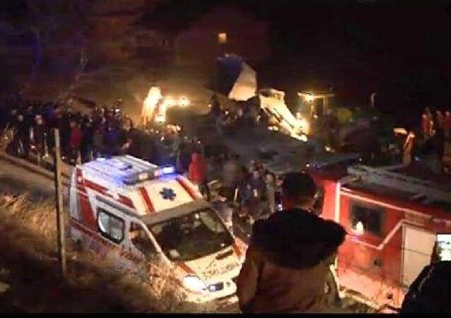 Kuzey Makedonya'da trafik kazası