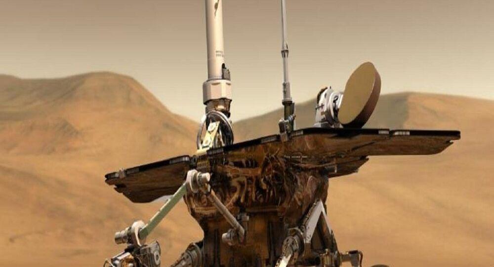 15 yıl boyunca Mars yüzeyinde keşif faaliyeti yürüten gezgin uzay aracı Opportunity