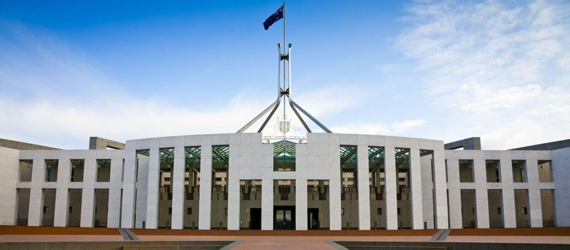 Canberra'daki Avustralya parlamentosu - Sputnik Türkiye, 1920, 06.08.2021