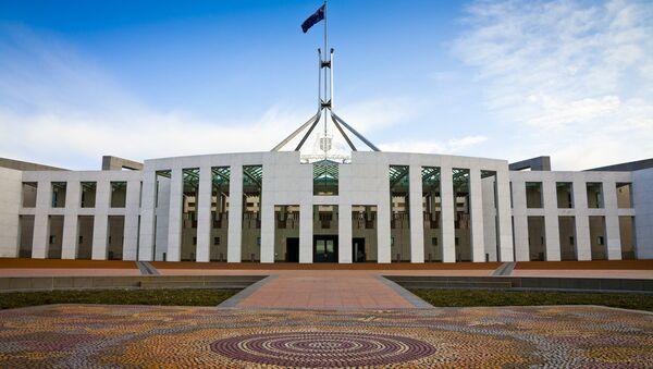 Canberra'daki Avustralya parlamentosu - Sputnik Türkiye