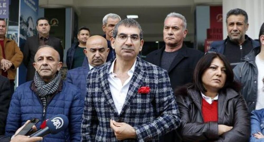 Eski CHP Antalya Milletvekili ve DSP Muratpaşa Belediye Başkan Adayı Yıldıray Sapan