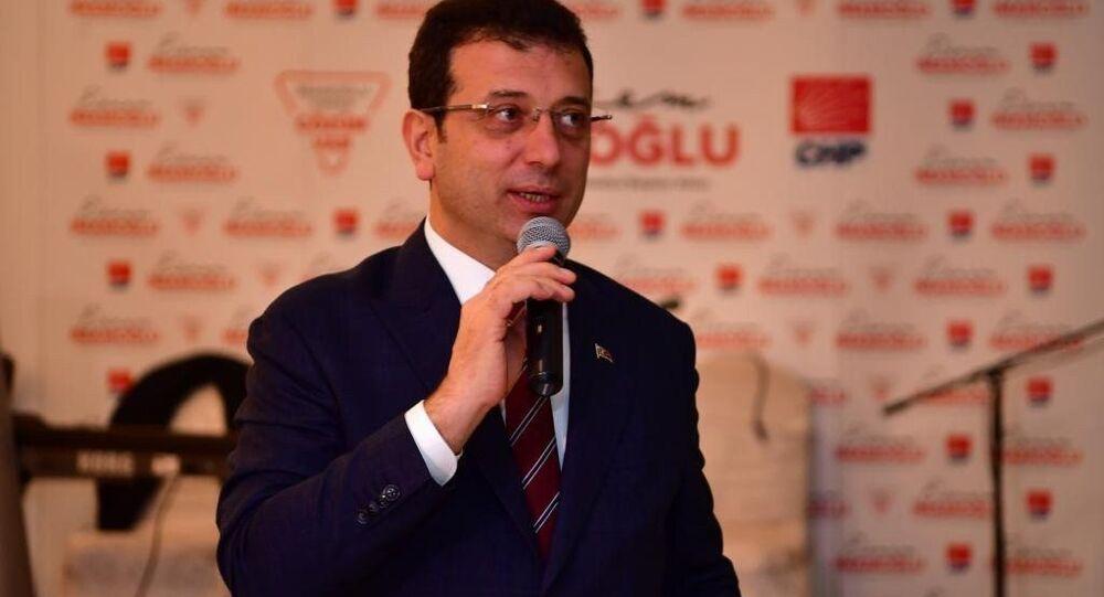 CHP'nin İstanbul Büyükşehir Belediye Başkan Adayı Ekrem İmamoğlu