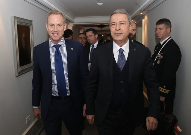 Milli Savunma Bakanı Hulusi Akar ve ABD Savunma Bakan Vekili Patrick M. Shanahan