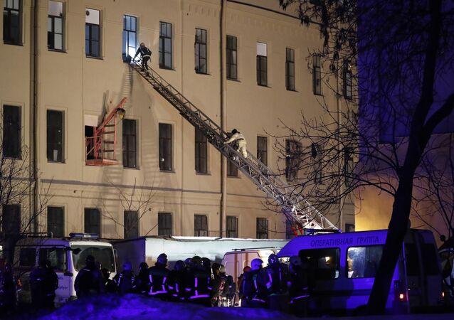 Rusya'da üniversite binası çöktü: 21 kişi enkaz altında kaldı