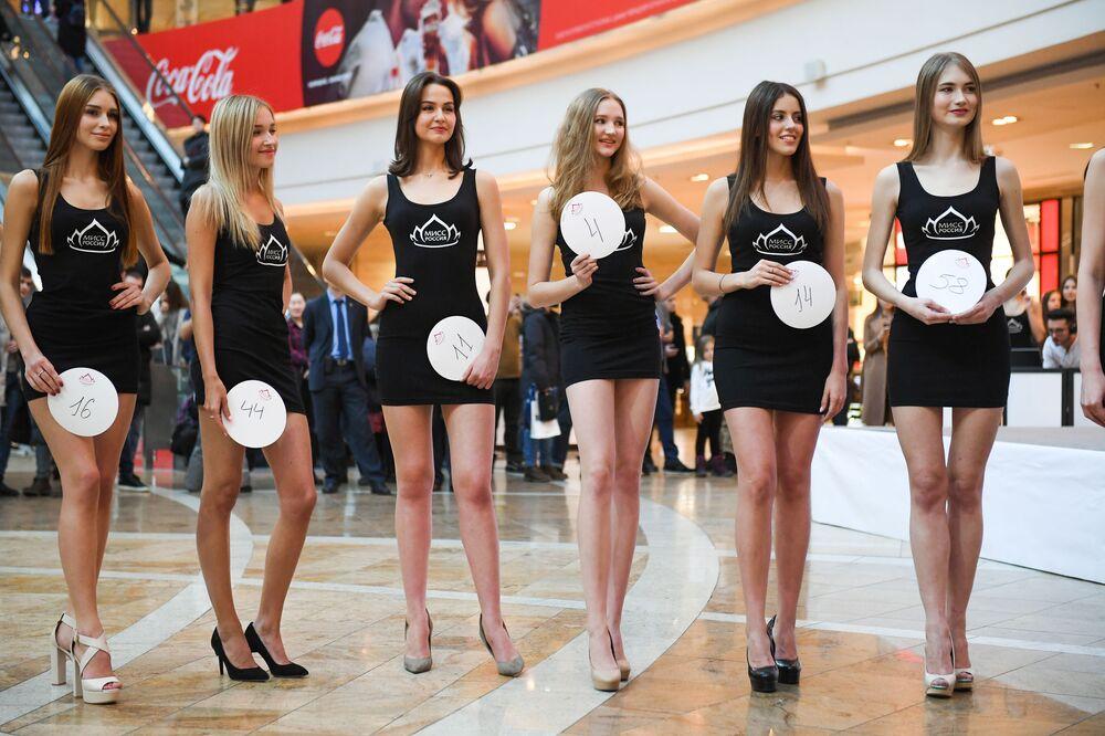 2019 Rusya Güzeli yarışması seçmeleri