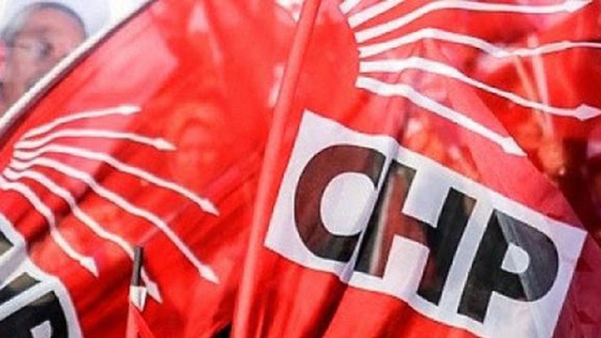 CHP, bayrak, logo - Sputnik Türkiye, 1920, 09.04.2021