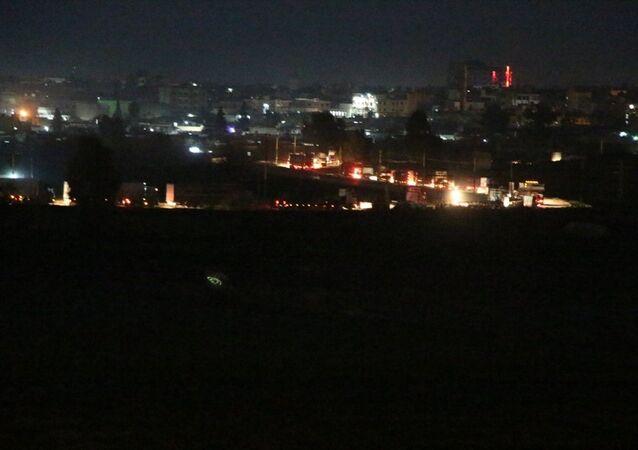 ABD'nin, Irak üzerinden Suriye'ye gönderdiği belirtilen 300 araçlık konvoy