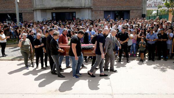 Arjantinli futbolcu Emiliano Sala'nın cenazesi - Sputnik Türkiye