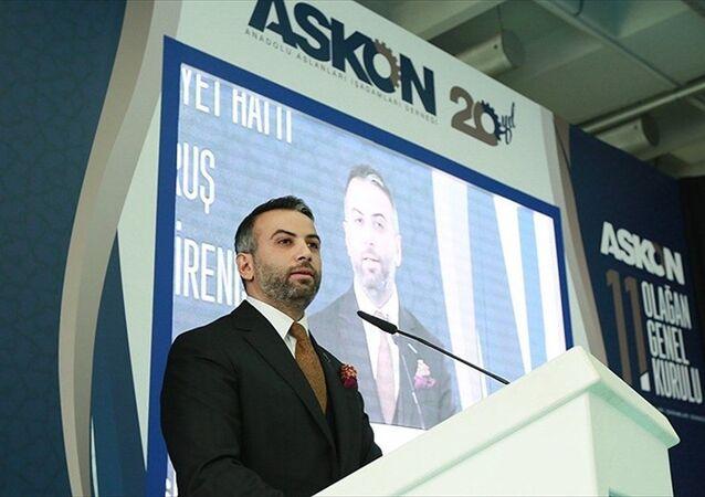 ASKON Genel Başkanı Orhan Aydın