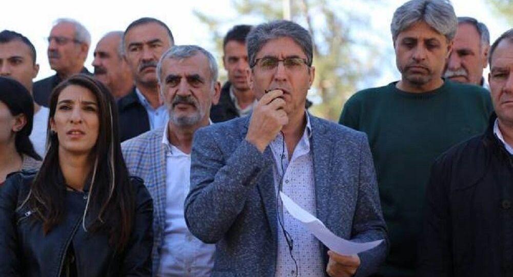 HDP Mardin İl Başkanı Ali Sinca
