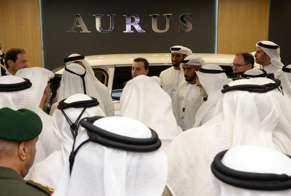 Aurus aracı IDEX-2019'da
