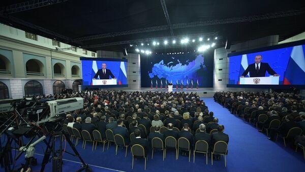Vladimir Putin'in Federal meclis konuşması - Sputnik Türkiye