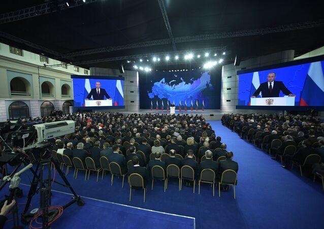 Vladimir Putin'in Federal meclis konuşması