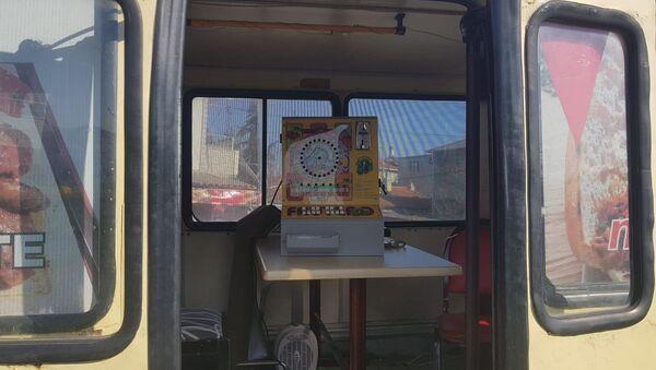 Tekirdağ'da kumarhaneye çevrilen minibüs - Sputnik Türkiye