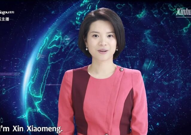 Dünyanın ilk kadın yapay zeka sunucusu Xin Xiaomeng