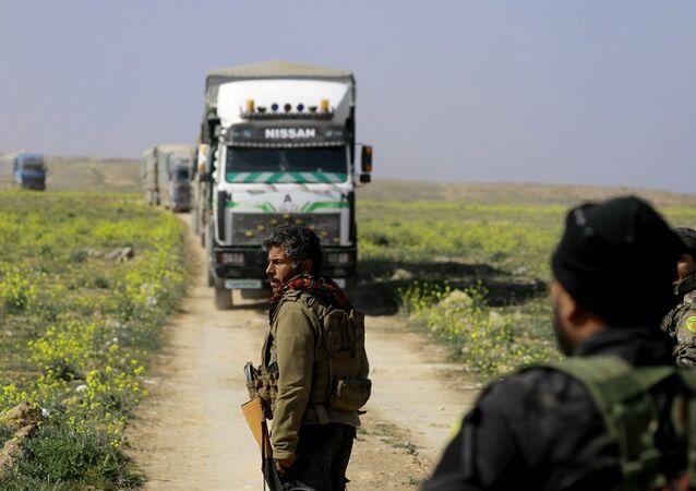 YPG'nin öncülük ettiği DSG üyesi