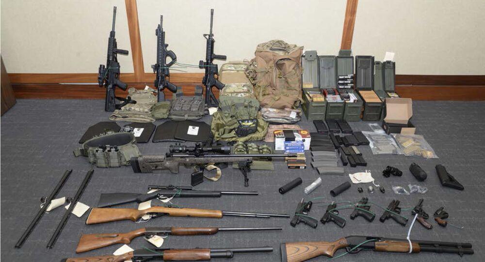 Tutuklanan Paul Hasson'un silahları