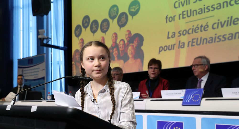 16 yaşındaki iklim aktivisti Greta Thunberg