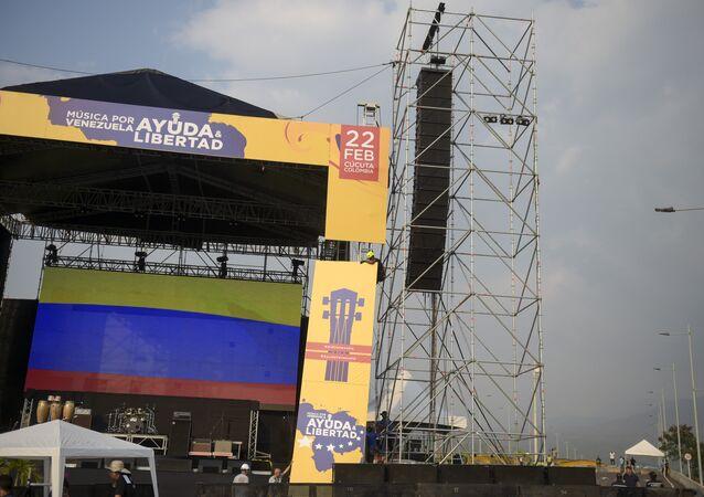 Kolombiya'nın Venezüella sınırında düzenlenecek ABD destekli yardım konseri