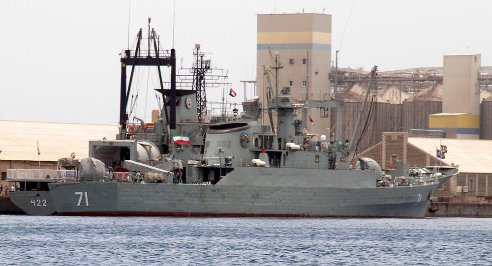 Иранский фрегат Алванд