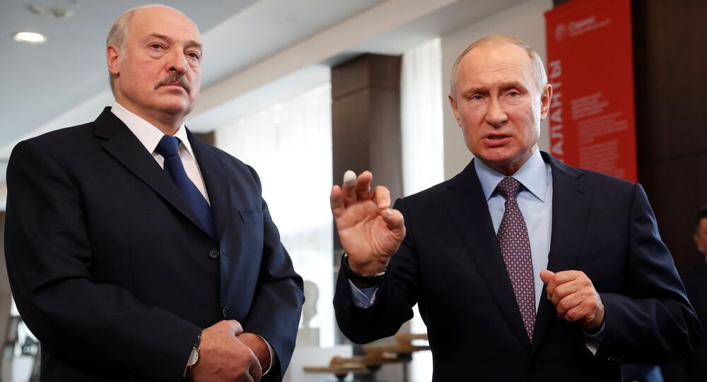 Belarus lideri Aleksandr Lukaşenko- Rusya lideri Vladimir Putin