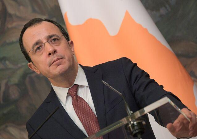 Kıbrıs Dışişleri Bakanı Nikos Hristodulidis