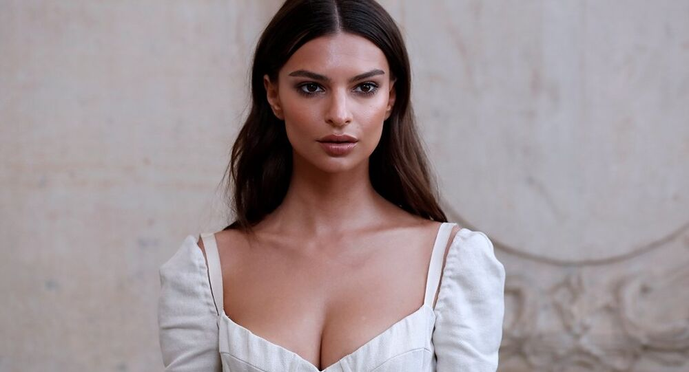 ABD'li model Emily Ratajkowski