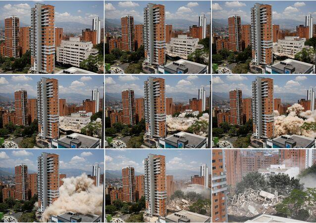 Kolombiyalı uyuşturucu baronu Pablo Escobar'ın başkent Bogota'da uzun süre ikamet ettiği Monaco binası