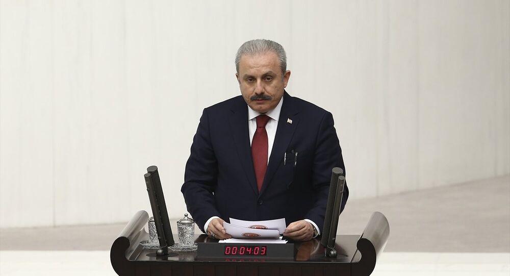 AK Parti Tekirdağ Milletvekili Mustafa Şentop