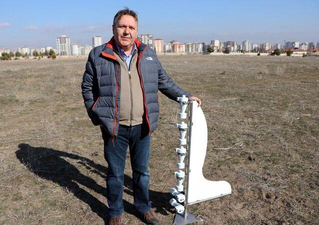 Erciyes Üniversitesi Ziraat Fakültesi Toprak Bilimi ve Bitki Besleme Bölümü Öğretim Üyesi Prof. Dr. Mustafa Başaran