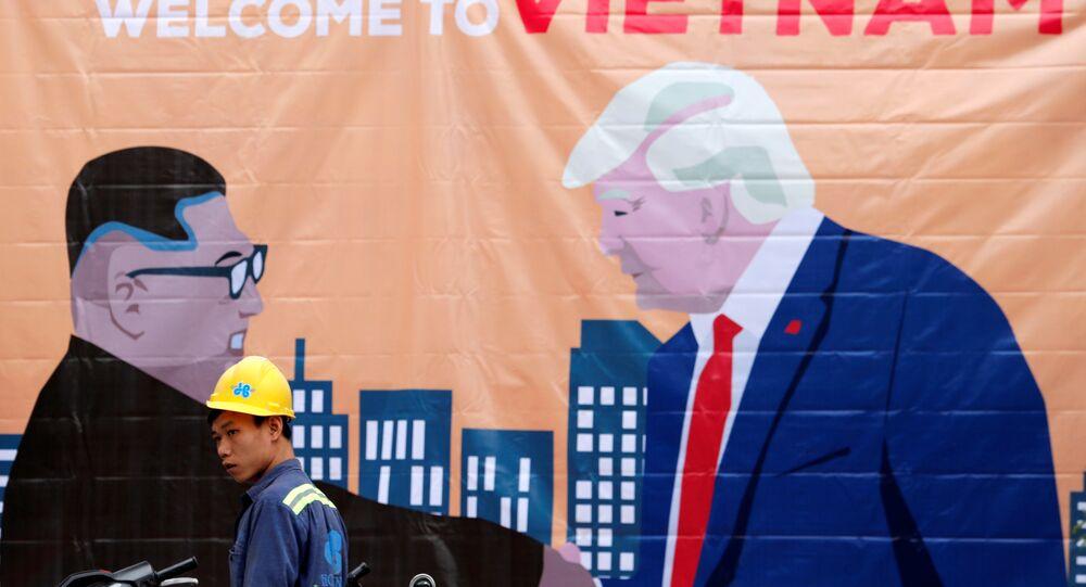 ABD Başkanı Donald Trump ile Kuzey Kore lideri Kim Jong-un