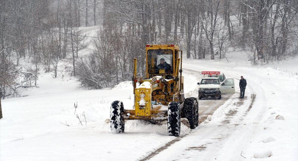 Türkiye genelinde kar yağışı