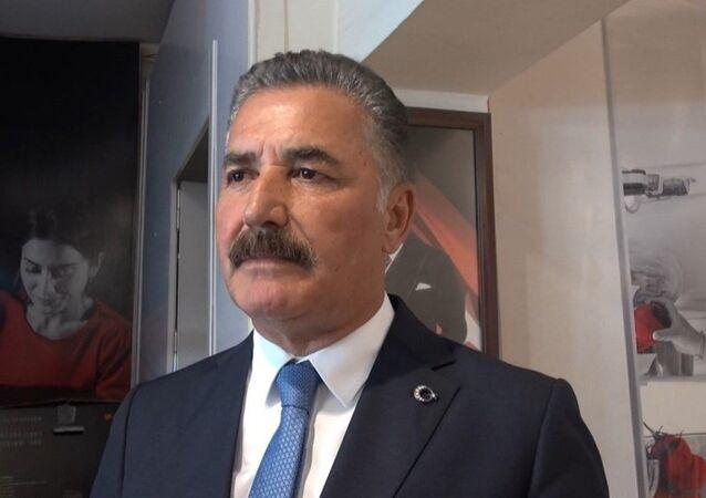 Cumhur İttifakı'nın MHP'li Mersin Büyükşehir Belediye Başkan adayı Hamit Tuna
