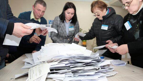 Moldova'da seçimler yapıldı - Sputnik Türkiye