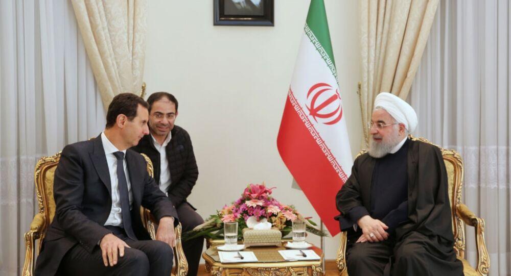 Suriye savaşının başlangıcından beri ilk: Esad, İran'da Ruhani ile görüştü