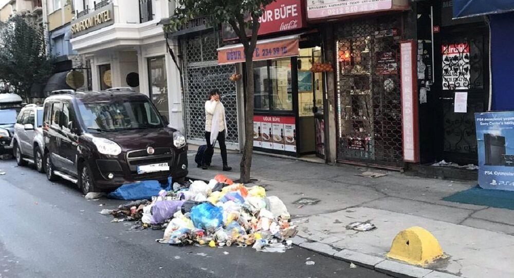 Şişli Belediyesi - çöp